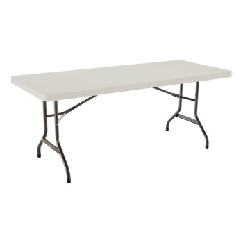 6-Foot Commercial Folding Table (Almond)