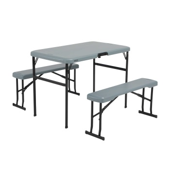 Folding Picnic Table with Benches
