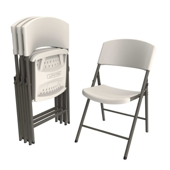 Light Commercial Folding Chair (almond)