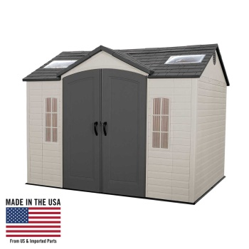 10' x 8' Shed