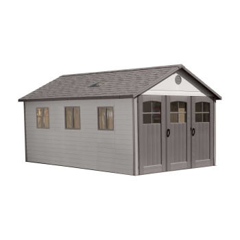 11 ft. x 21 ft. Shed (tri-fold doors)