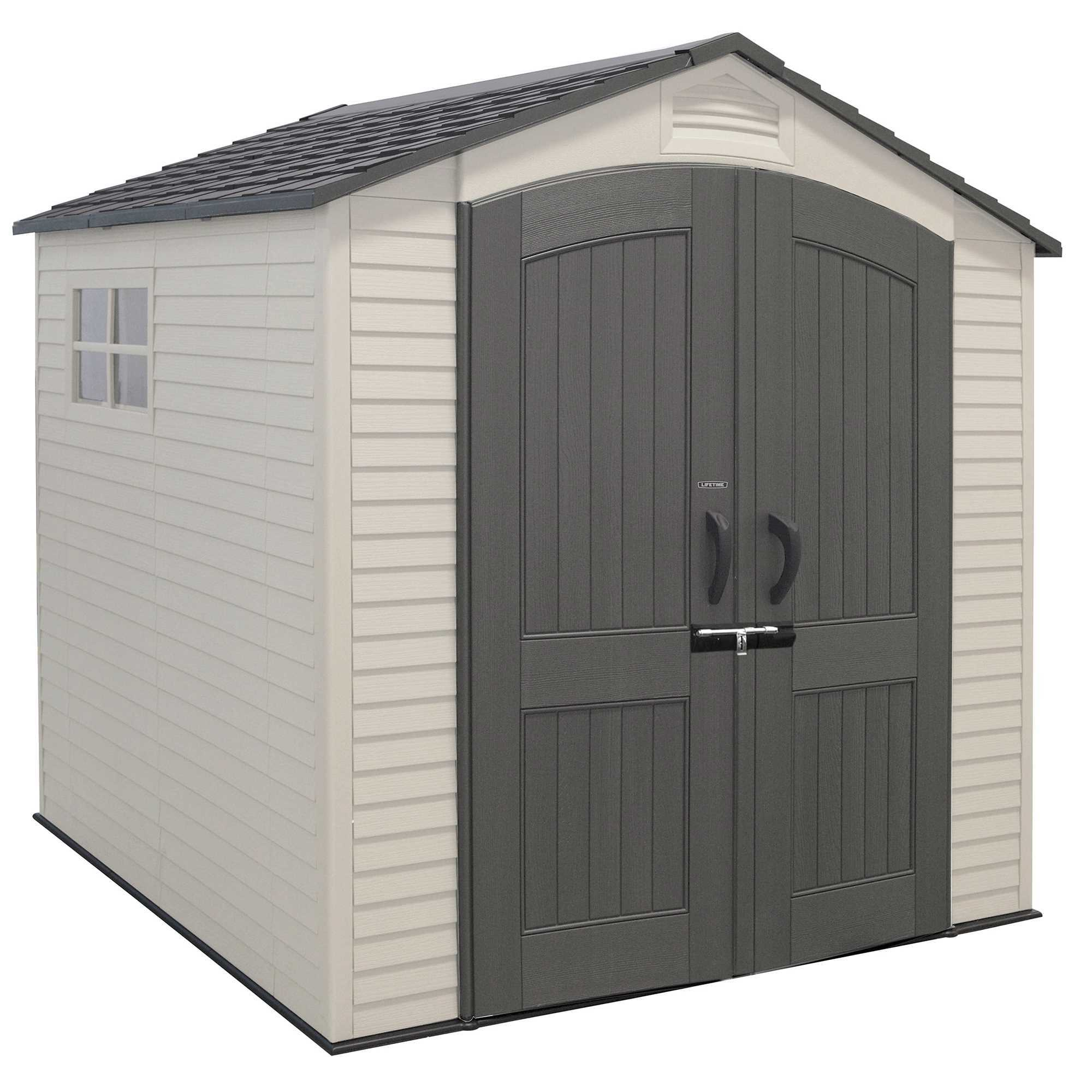 7' x 7' Outdoor Storage Shed (2 windows)