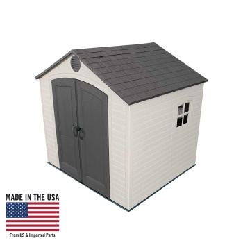 8 ft. x 7.5 ft. Storage Shed (1 window)