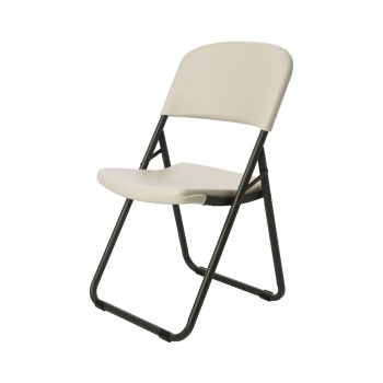 Loop Leg Folding Chair (almond)