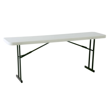 8-Foot Professional Conference Table (white granite)