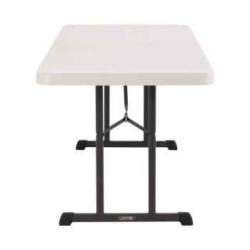 6-Foot Professional Folding Table (almond)