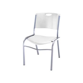 Stacking Chair (white granite)