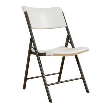 Contemporary Commercial Folding Chair (almond)