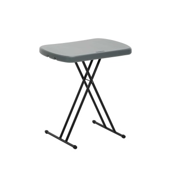 26-Inch Personal Table (Gray)