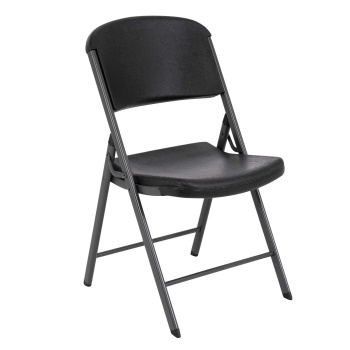 Classic Commercial Folding Chair (black, 32 pack)