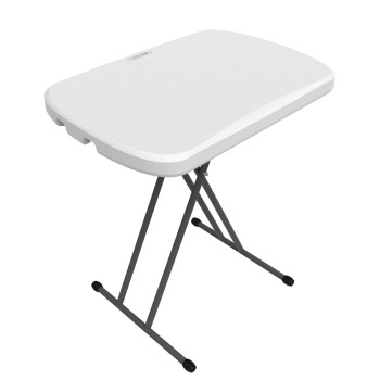 26-Inch Personal Table (white granite)