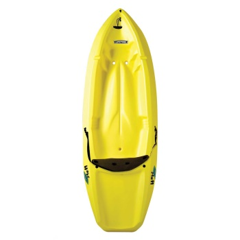 Wave Kayak (Yellow, Paddle, Backrest)