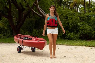Universal Kayak and Canoe Cart photo