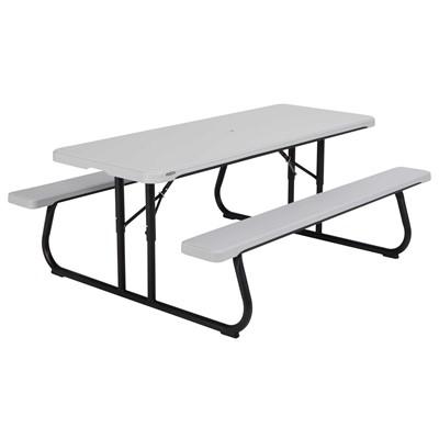 Lifetime 6 Folding Picnic Table.Lifetime 6 Foot Classic Folding Picnic Table Hunter Green