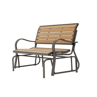 Astounding Lifetime Glider Bench Ibusinesslaw Wood Chair Design Ideas Ibusinesslaworg
