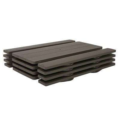 Lifetime 6 Foot Classic Folding Picnic Table