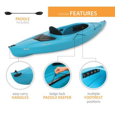 Lifetime Payette 98 Sit-In Kayak (Paddle Included) photo