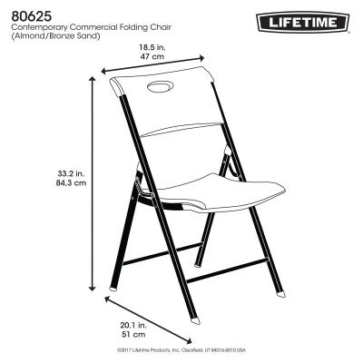 Lifetime Contemporary Folding Chair - (Commercial) photo