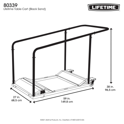 Lifetime Table Cart