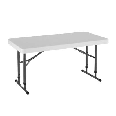 Lifetime 4-Foot Adjustable Height Table (Commercial) photo