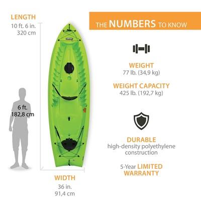 Lifetime Kokanee 106 Tandem Kayak