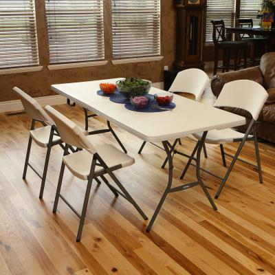 Lifetime 6-Foot Fold-In-Half Table (Essential) - 13 Pack photo