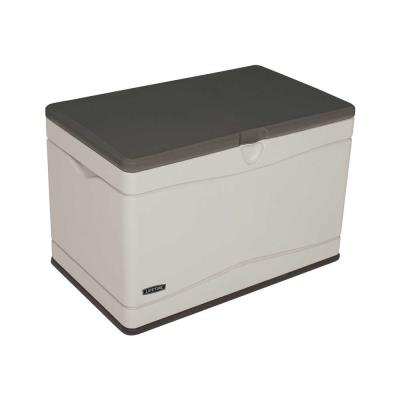 Lifetime Heavy-Duty Outdoor Storage Deck Box (80 Gallon) photo
