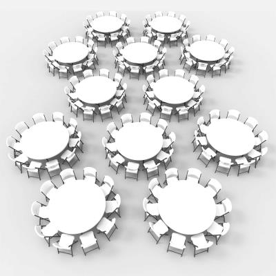Outstanding Lifetime 12 72 Inch Round Tables And 120 Chairs Combo Commercial Pabps2019 Chair Design Images Pabps2019Com