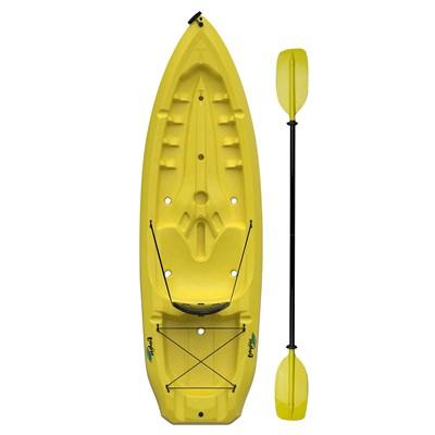 Daylite Kayak (Yellow, Paddle, Backrest)