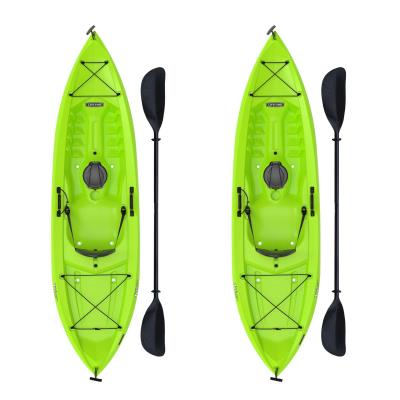 Lifetime Tioga 100 Sit-On-Top Kayak - 2 Pack (Paddles Included) photo