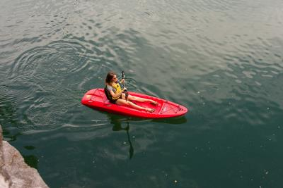 Lifetime Hydros 85 Sit-On-Top Kayak (Paddle Included) photo