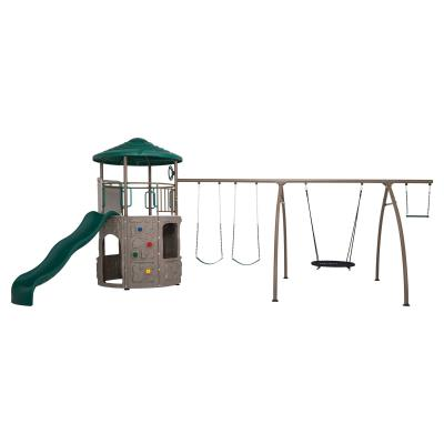 Lifetime Adventure Tower with Spider Swing photo