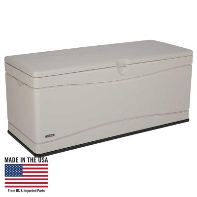 Lifetime Heavy-Duty Outdoor Storage Deck Box (130 Gallon) photo