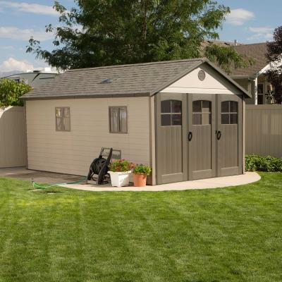 Lifetime 11 Ft. x 18.5 Ft. Outdoor Storage Shed photo