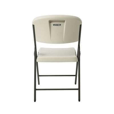 Lifetime (4) 60-Inch Round Stacking Table and (32) Chair Combo (Commercial) photo