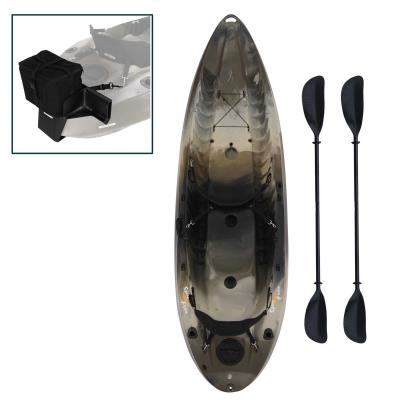 Lifetime Sport Fisher Angler 100 Kayak (Motor Mount and Paddles Included) photo