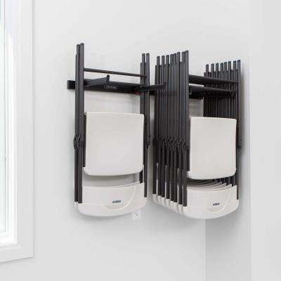 Wall-Mounted Chair Rack photo