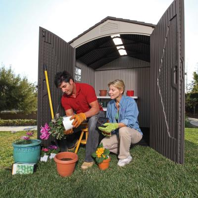 Lifetime 7 Ft. x 7 Ft. Outdoor Storage Shed photo