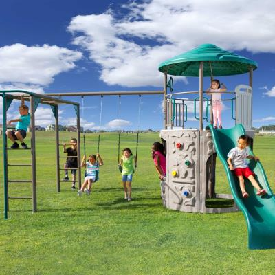 Lifetime Adventure Tower with Monkey Bars photo