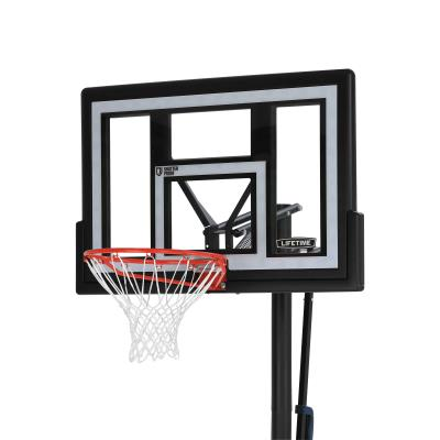 Lifetime Adjustable Portable Basketball Hoop (48-Inch Polycarbonate) photo