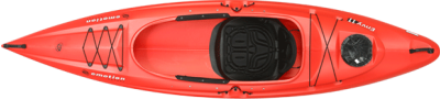Envy 110 Sit-In Kayak (Red) photo
