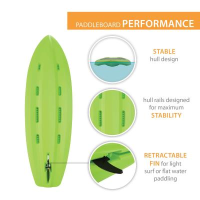 Lifetime Hooligan 80 Youth Stand-Up Paddleboard (Paddle Included) photo