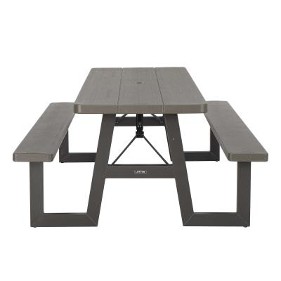 Lifetime 6-Foot W-Frame Folding Picnic Table photo