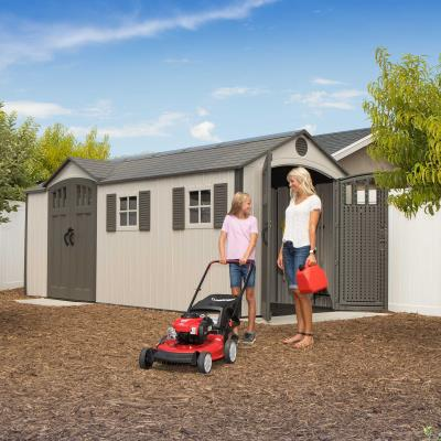 Lifetime 17.5 Ft. x 8 Ft. Outdoor Storage Shed photo