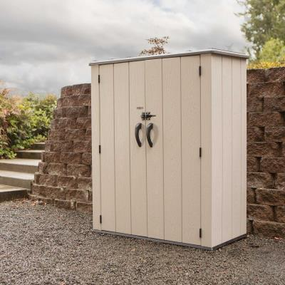 Lifetime Vertical Storage Shed (53 cubic feet) photo