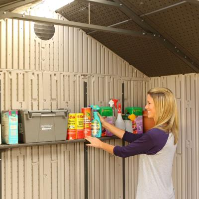 Lifetime 20 Ft. x 8 Ft. Outdoor Storage Shed photo