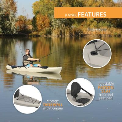 Emotion Stealth Angler 110 Fishing Kayak photo