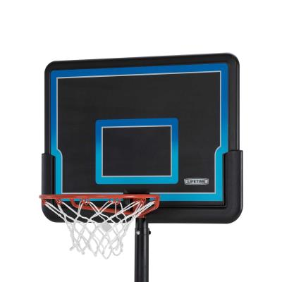 The Youth Basketball System from Lifetime Products features a 32 in. Impact® backboard. The telescoping pole easily adjusts from 5.5 to 7.5 feet high in 6 in. increments. With a 15 in. classic rim and a 10-gallon portable base, this system is the perfect start for your little athlete. photo