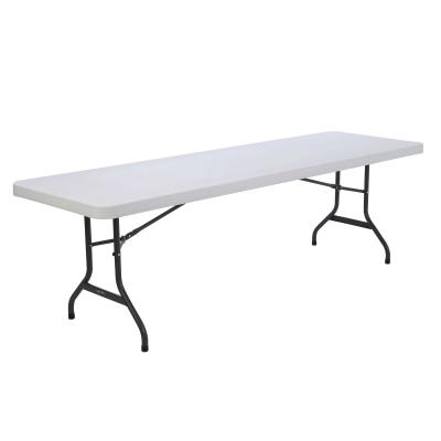 Lifetime 8-Foot Table and (8) Chairs Combo (Commercial) photo
