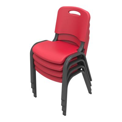 Lifetime Childrens Stacking Chair (Commercial) - Red photo